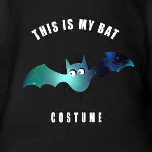 costume bat bat comic splashes cute lol - Organic Short-sleeved Baby Bodysuit