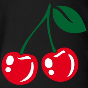 Cherries - Baby Bio-Kurzarm-Body