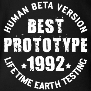1992 - The birth year of legendary prototypes - Organic Short-sleeved Baby Bodysuit