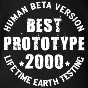 2000 - The birth year of legendary prototypes - Organic Short-sleeved Baby Bodysuit