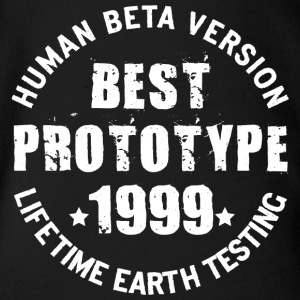 1999 - The birth year of legendary prototypes - Organic Short-sleeved Baby Bodysuit