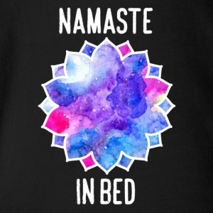 CHAKRA IN BED - Baby Bio-Kurzarm-Body