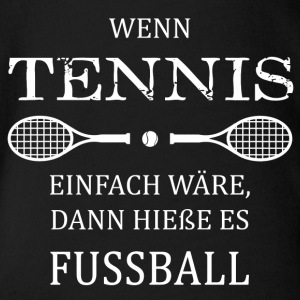 Tennis Fussball - Baby Bio-Kurzarm-Body
