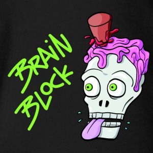 Brain Block - Baby Bio-Kurzarm-Body