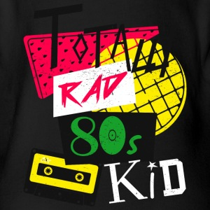 Totally Rad 80s Kid - Baby Bio-Kurzarm-Body
