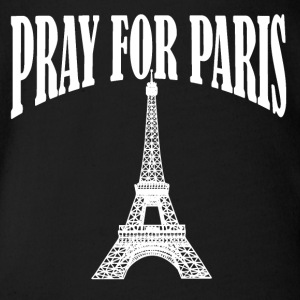 Pray for Paris - Baby Bio-Kurzarm-Body