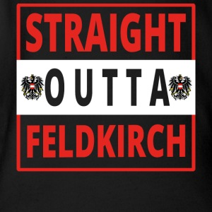 Straight outta Feldkirch - Baby Bio-Kurzarm-Body