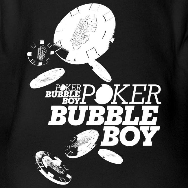 Poker - Bubble Boy (hvid)