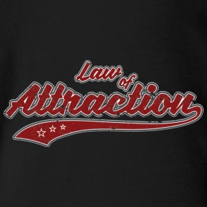 Law of Attraction Vintage - Organic Short-sleeved Baby Bodysuit