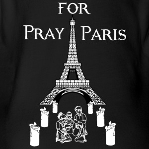 Pray for Paris - Organic Short-sleeved Baby Bodysuit