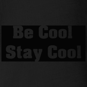 Be Cool Stay Cool - Organic Short-sleeved Baby Bodysuit
