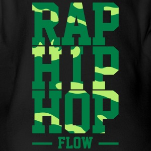 Rap Hip Hop Fluss - Baby Bio-Kurzarm-Body
