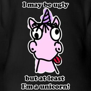 Ugly Unicorn - Baby Bio-Kurzarm-Body