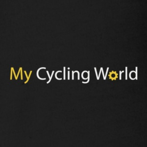 my cycling world - Organic Short-sleeved Baby Bodysuit