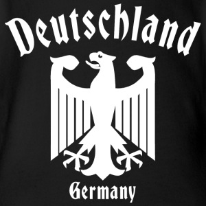Deutschland Germany - Organic Short-sleeved Baby Bodysuit