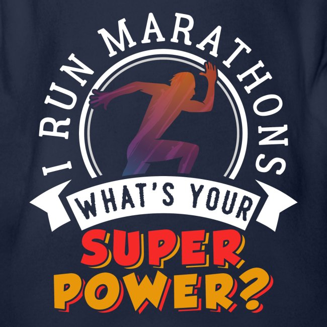 Running Marathons Super Power