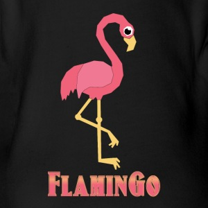 FlaminGo - Baby Bio-Kurzarm-Body