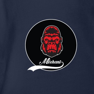 Logo mechant gorilla summer edition collector - Organic Short-sleeved Baby Bodysuit