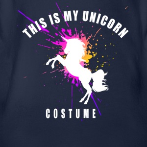 costume unicorn unicorn mystical romantic horse - Organic Short-sleeved Baby Bodysuit