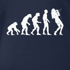EVOLUTION SÄNGER! - Baby Bio-Kurzarm-Body