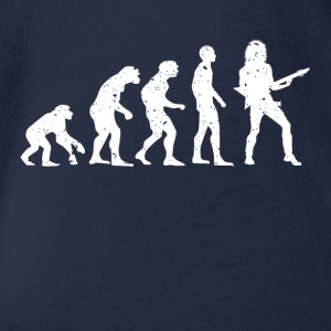 EVOLUTION GUITARIST! - Organic Short-sleeved Baby Bodysuit