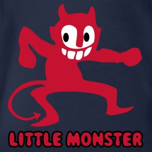 monster57 - Organic Short-sleeved Baby Bodysuit