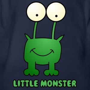 monster82 - Organic Short-sleeved Baby Bodysuit