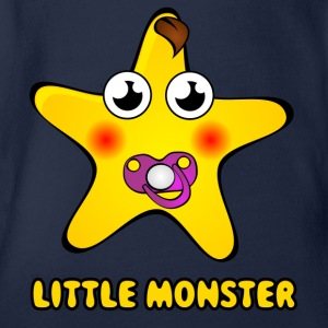 monster183 - Organic Short-sleeved Baby Bodysuit