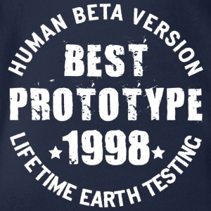 1998 - The birth year of legendary prototypes - Organic Short-sleeved Baby Bodysuit