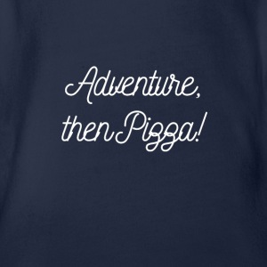 Adventure Pizza - Organic Short-sleeved Baby Bodysuit