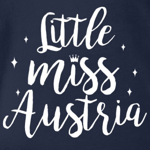 Little Miss Austria - Baby Bio-Kurzarm-Body