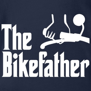 The Bikefather - Organic Short-sleeved Baby Bodysuit