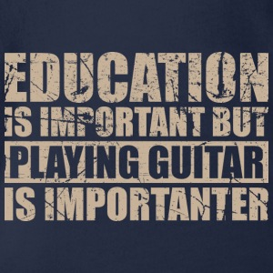 Playing guitar is importanter - Musik - Baby Bio-Kurzarm-Body