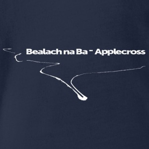 Bealach na Ba - Applecross - Organic Short-sleeved Baby Bodysuit