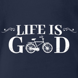 Life Is Good Bicycle - Baby Bio-Kurzarm-Body