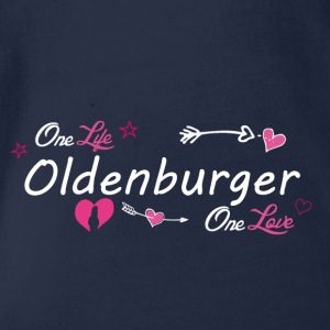 Oldenburger - Baby Bio-Kurzarm-Body