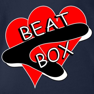 BEAT BOX! - Baby Bio-Kurzarm-Body