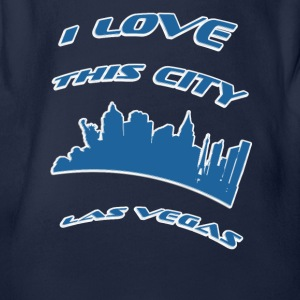 Las vegas I love this city - Organic Short-sleeved Baby Bodysuit