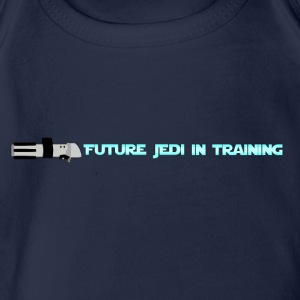 Future Jedi in Training - Organic Short-sleeved Baby Bodysuit