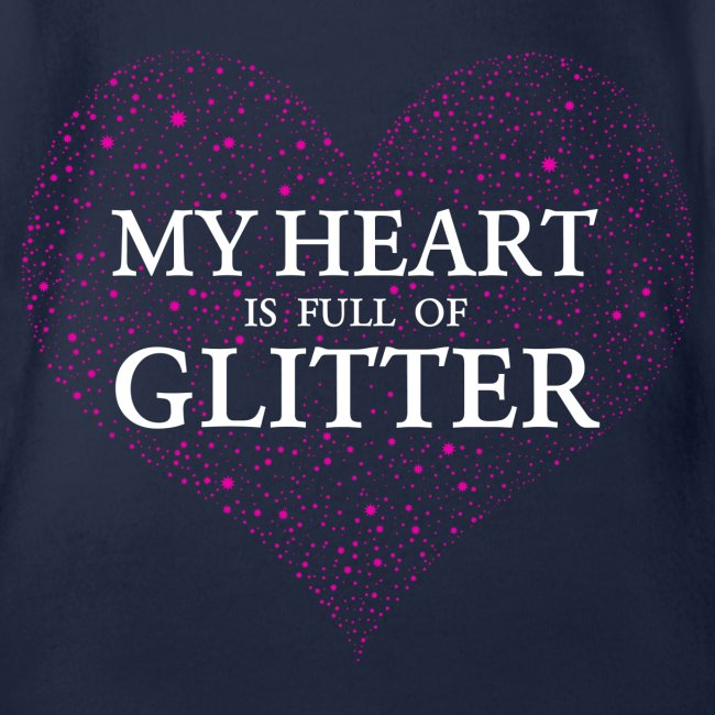 Herz Glitzer