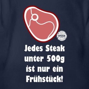Steak unter 500g... - Baby Bio-Kurzarm-Body