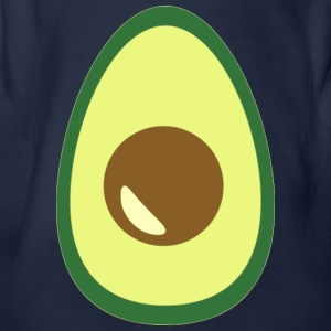 AVOCADO - Organic Short-sleeved Baby Bodysuit