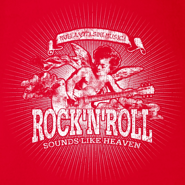 Rock 'n' Roll - Sounds Like Heaven (hvid)