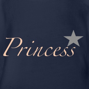 Princess Limited HD - Baby bio-rompertje met korte mouwen