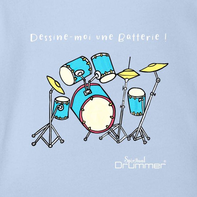 Luigi Drum White