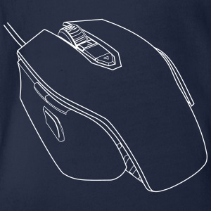 Gaming Mouse - Baby Bio-Kurzarm-Body