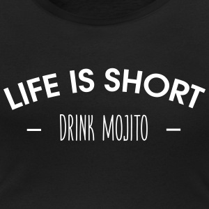 Life is short, drink mojito - T-shirt col rond U Femme