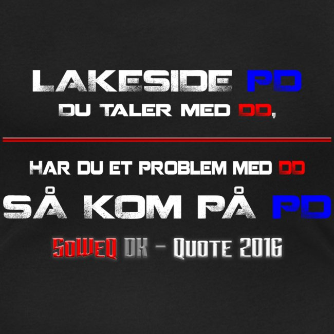 DD på PD Kollektion 2016