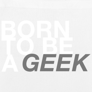 BORN GEEK - EarthPositive Tote Bag