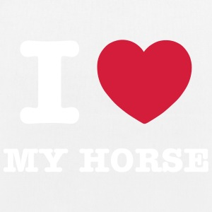 I love my horse - EarthPositive Tote Bag